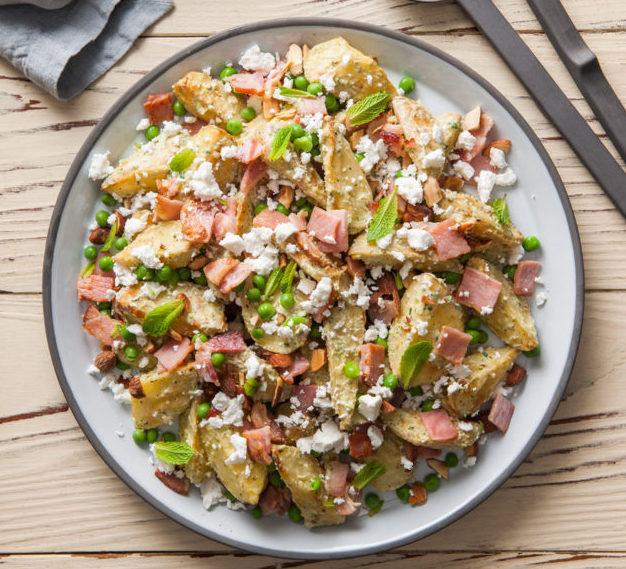 Pea & Mint Pesto Spud Lite Salad