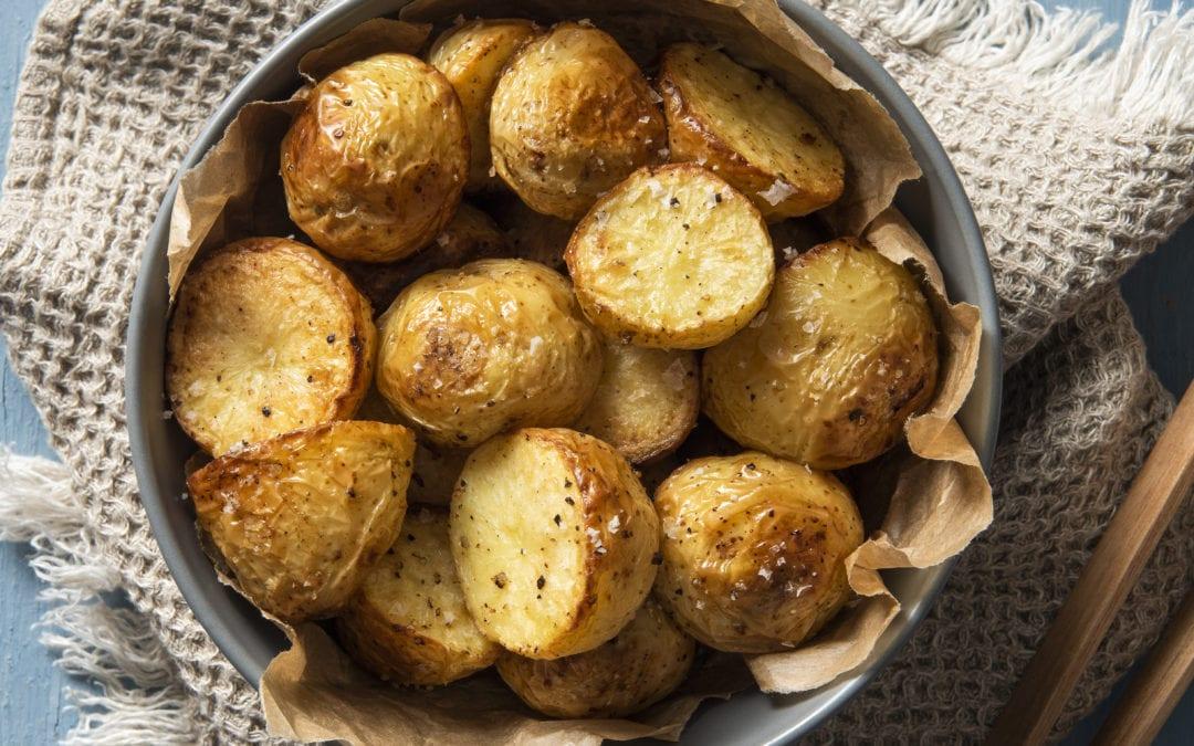 Perfect Spud Lite Roast Potatoes