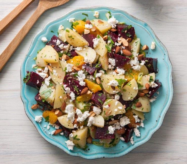 Spud Lite Potato, Beetroot & Orange Salad