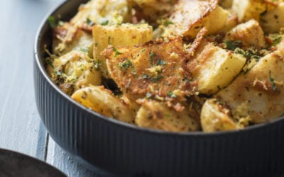 Parmesan Garlic and Herb Roast Potatoes