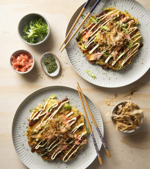 Potato Okonomiyaki