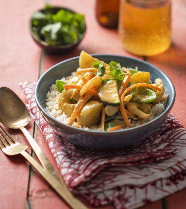 Prawn and Potato Yellow Curry