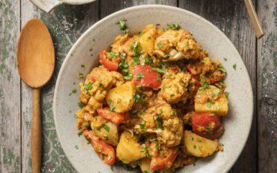 Potato, Lentil and Cauliflower Curry